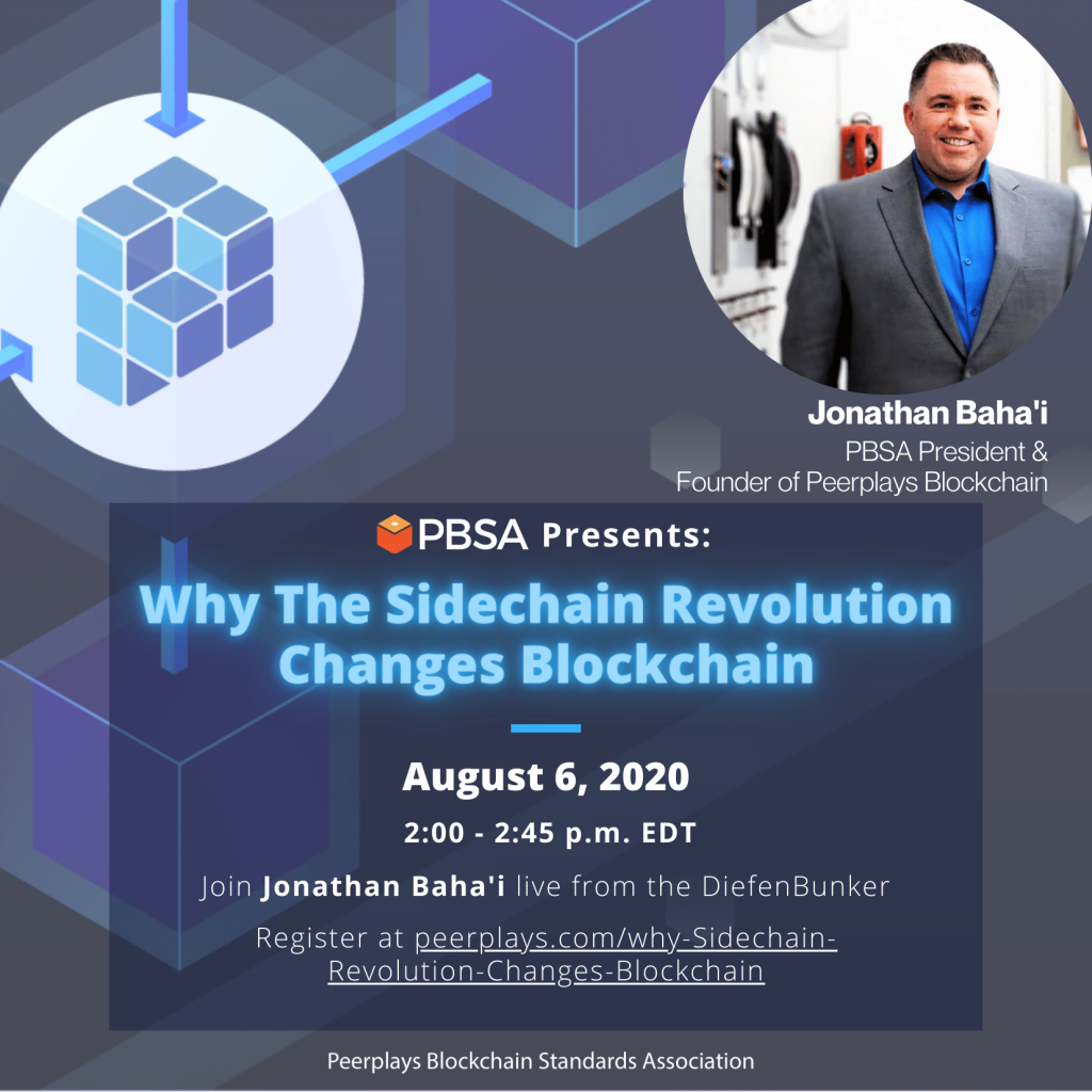 Join Jonathan Bahai as he explores the brave new world of sidechain